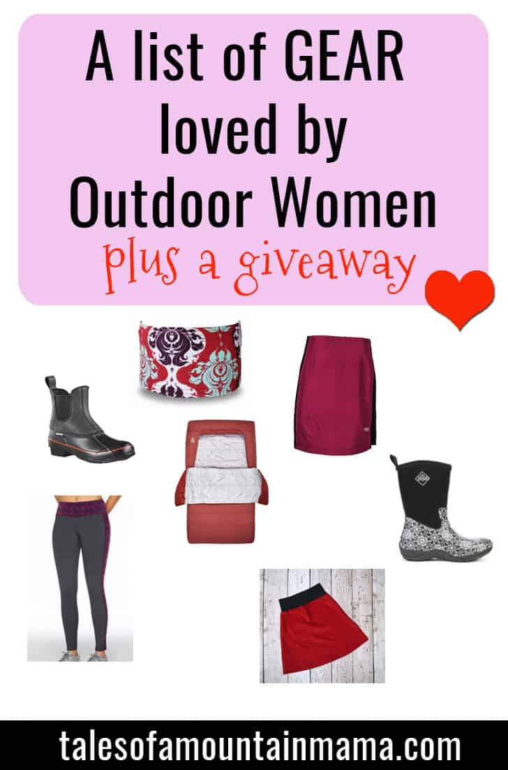 A List of Gear Outdoor Women Love + Giveaway!