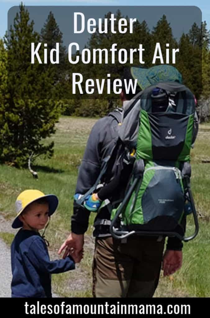 Deuter Kid Comfort Air Review