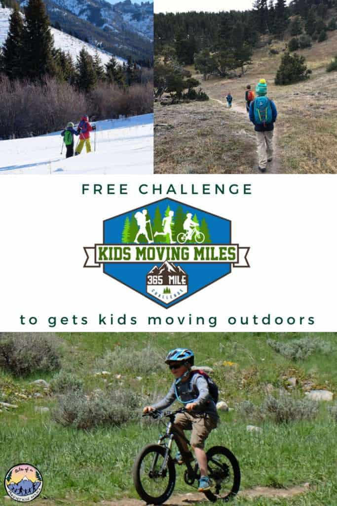 kids moving miles free challenge