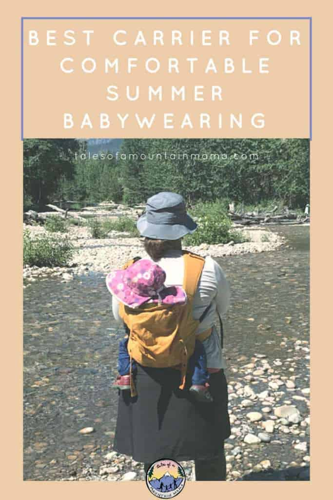 Happy Baby Carrier for Comfortable Summer Babywearing