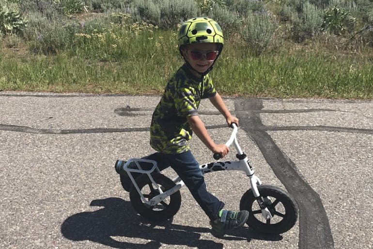 Yuba Flip Flop Cargo Bike for Kids