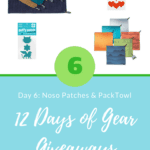 12 Days of Gear Giveaways: Day 6 *Win from Noso Patches & PackTowl*
