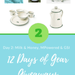 12 Days of Gear Giveaways: Day 2 *Win from MPowered, GSI & Milk & Honey*