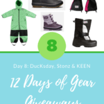 12 Days of Gear Giveaways Day 8: Win from DucKsday, Stonz & KEEN