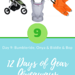 12 Days of Gear Giveaways Day 9: Win from Bumbleride, Onya Baby & Biddle & Bop