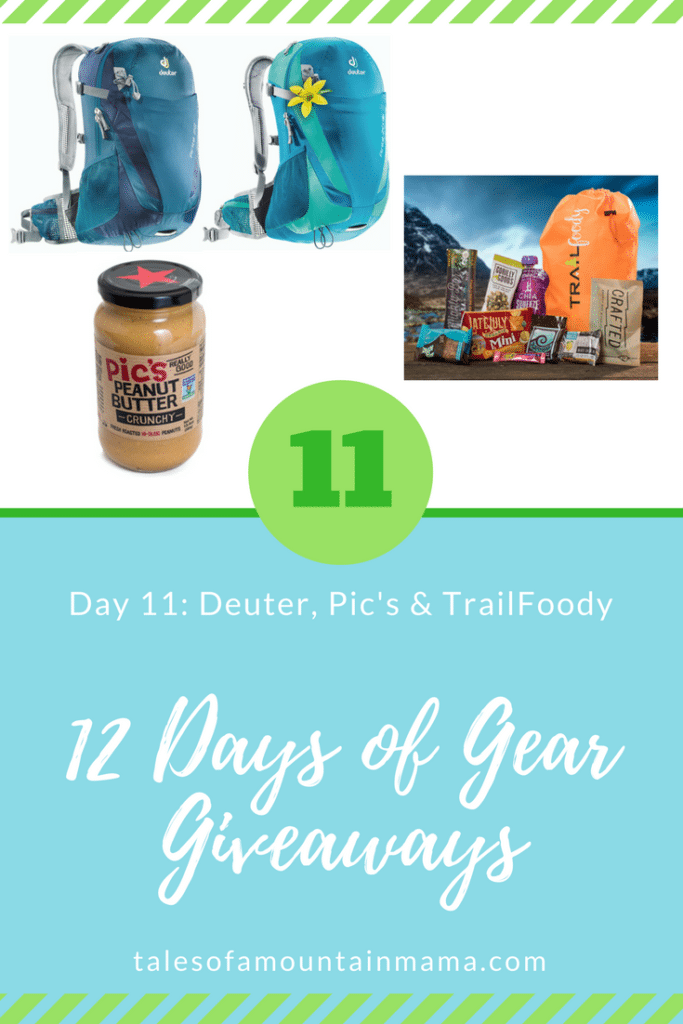 12 Days of Gear Giveaways: Day 11 *Win from Deuter, Pic's & TrailFoody*