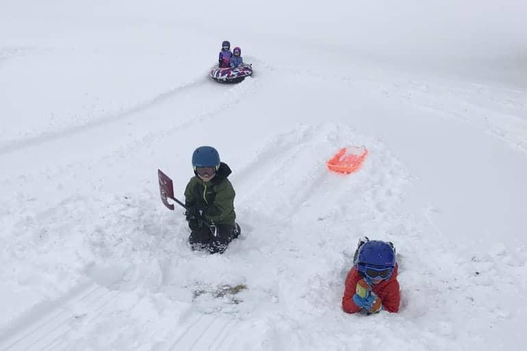 Why you need a ski helmet for sledding