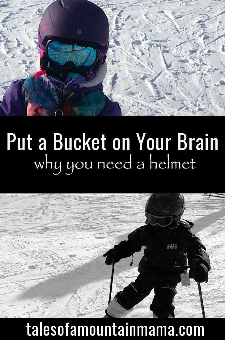 Put a Bucket on Your Brain - Why You Need a Helmet