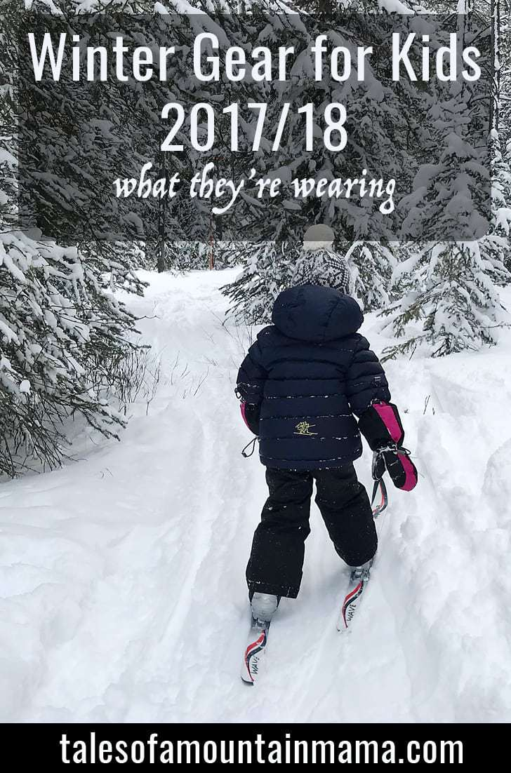 Winter Gear for Kids 2017/18 - What They're Wearing!