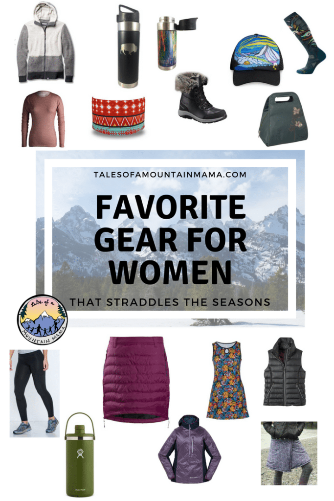 Favorite Gear to Straddle the Seasons for Women