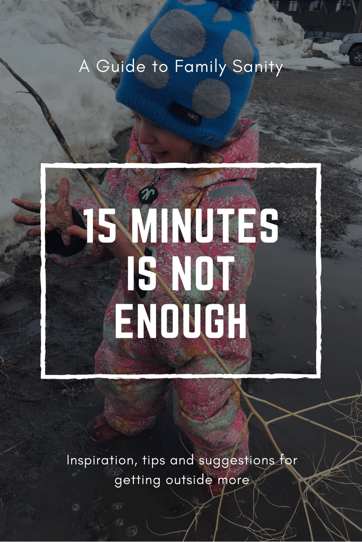 Fifteen Minutes Isn't Enough.