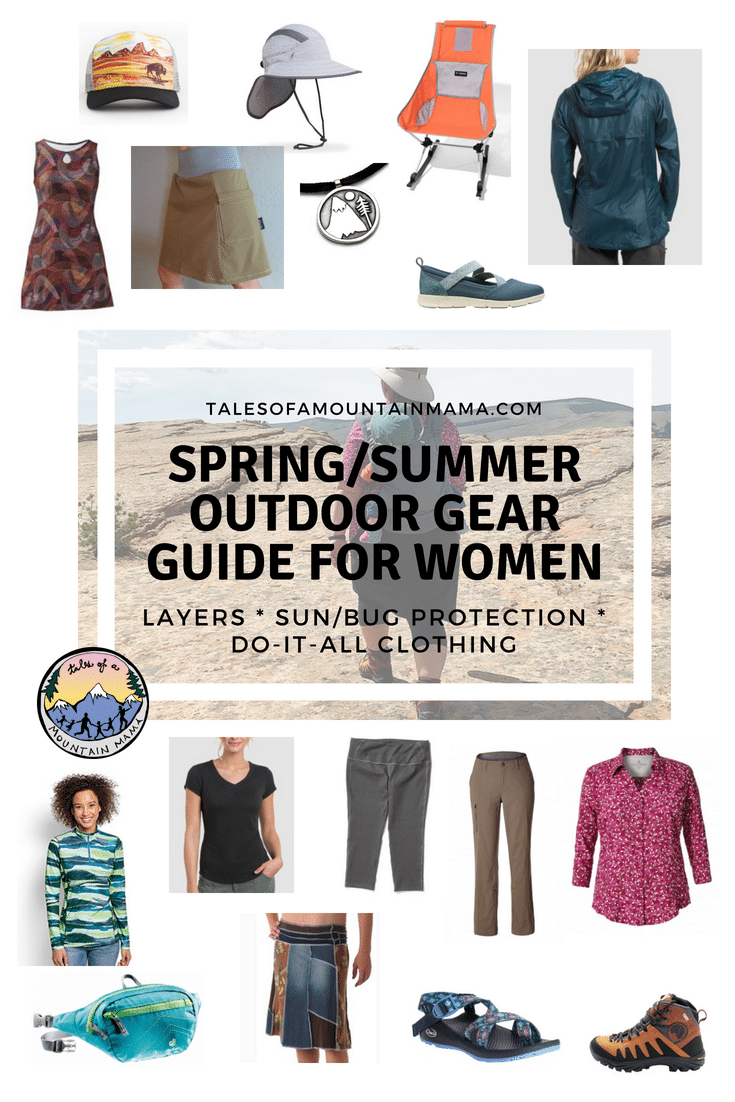 Spring Outdoor Gear Guide for Women