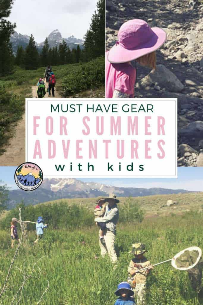 must have gear for summer adventures with kids