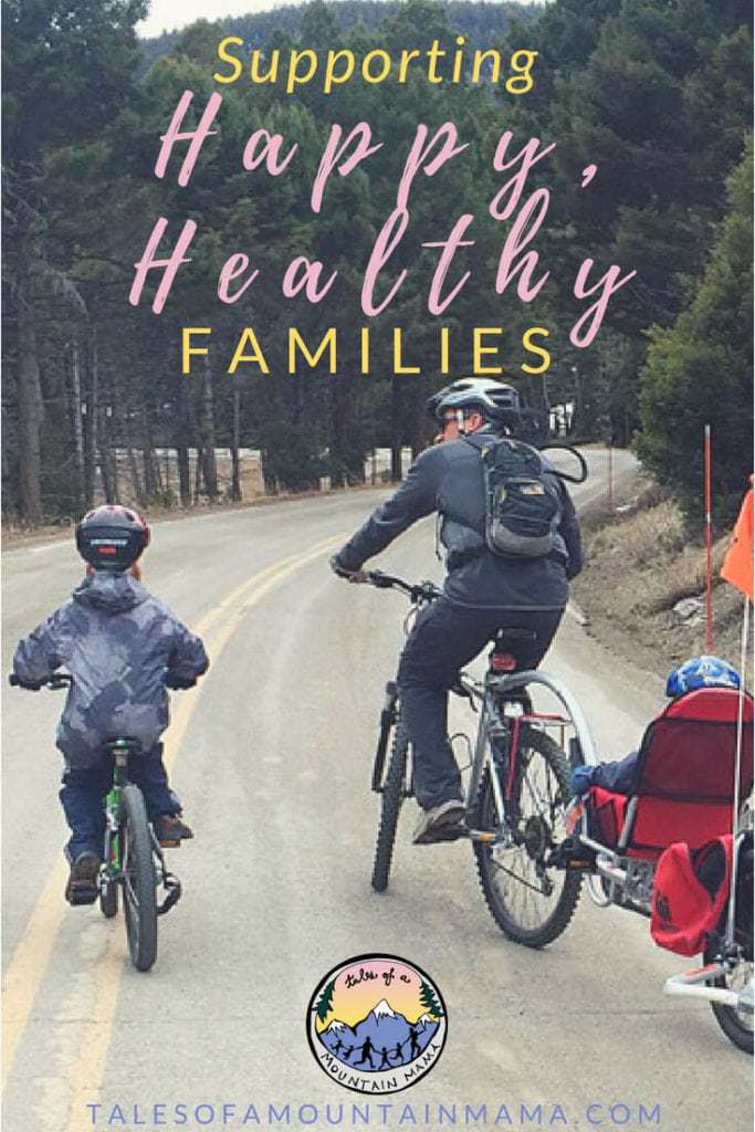 supporting happier healthier families