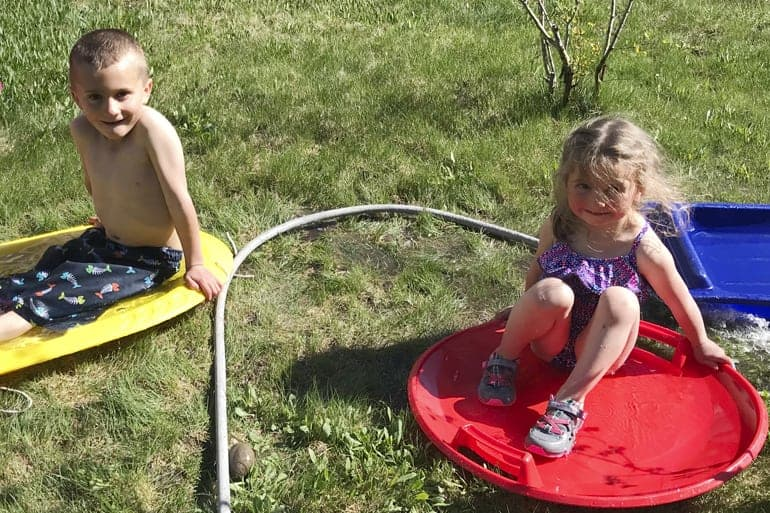 5 Tips to Get Kids Outside in the Heat of Summer Safely and Happily
