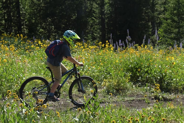 Mountain Biking with Kids