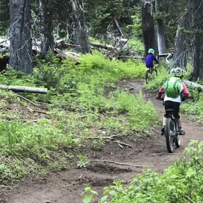 Mountain Biking with Kids