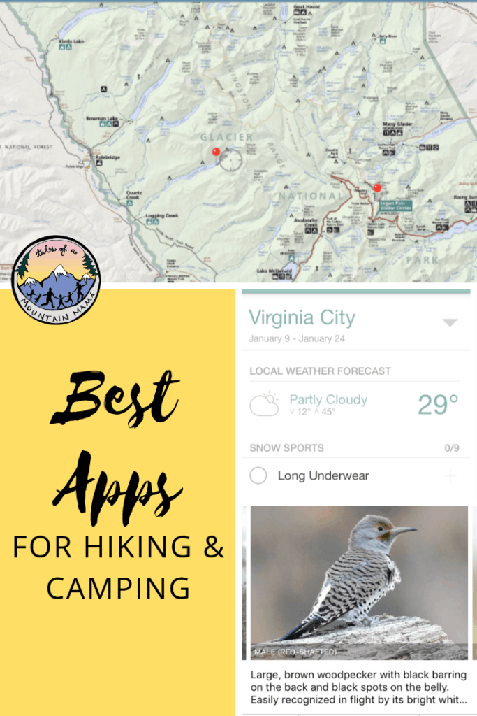 Getting outside doesn't mean you have to leave your technology behind. These must-have apps are available in iTunes and Google Play store and work great for hiking, camping and outdoor adventure. #bestapps #hiking #camping #technology
