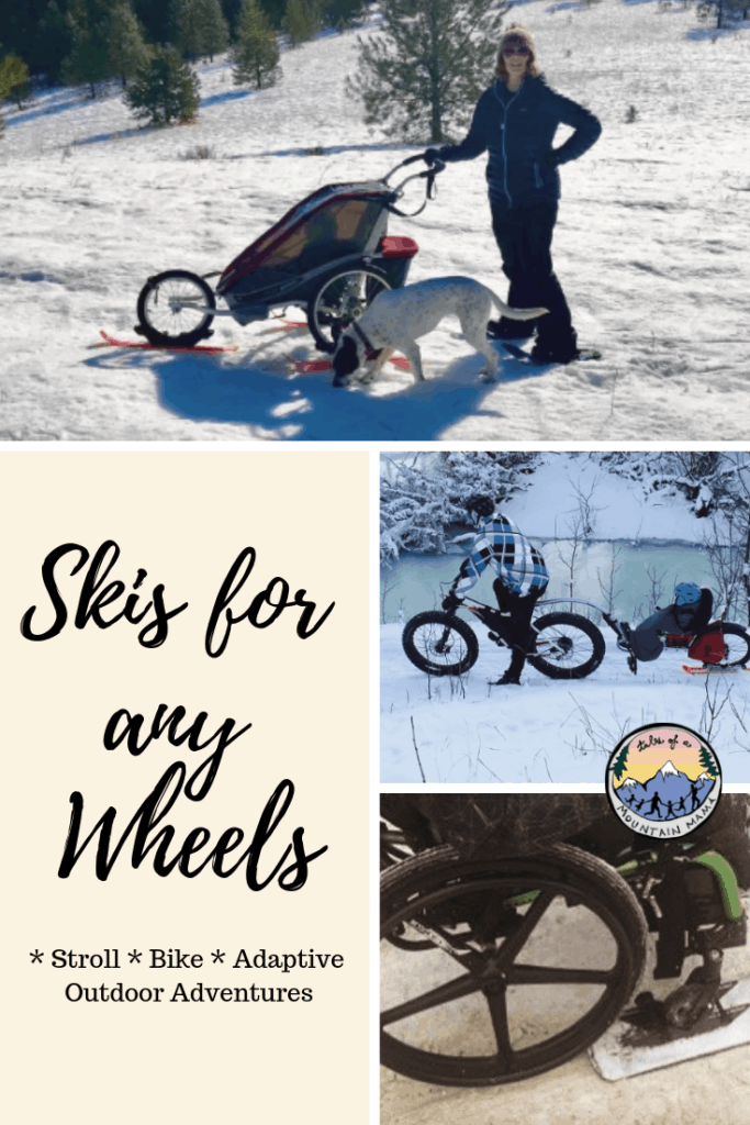 Skis for Any Wheels