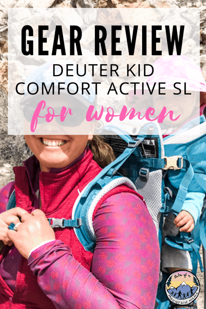 63aeb0fe612 Deuter Kid Comfort Active SL for Women - Tales of a Mountain Mama