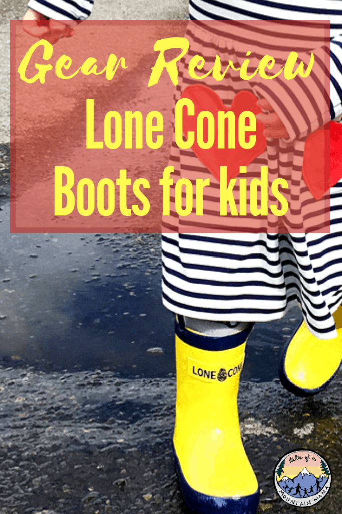 Lone Cone Boots for Kids