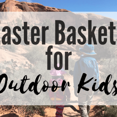easter baskets for outdoor kids