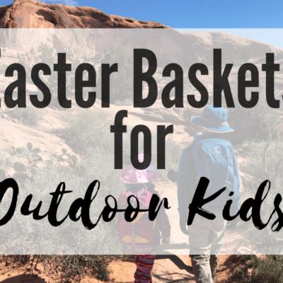 easter baskets for outdoor kids