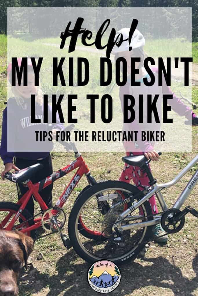 handling the reluctant biker