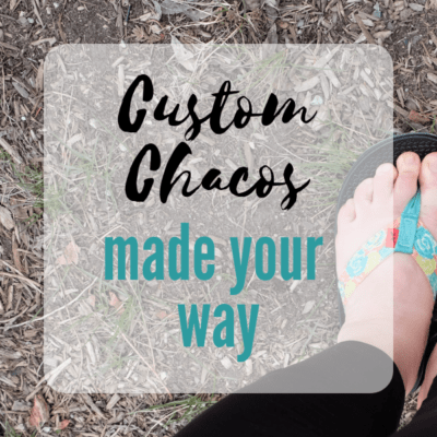 custom chacos