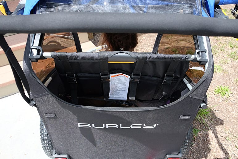 Burley Dlite reclined