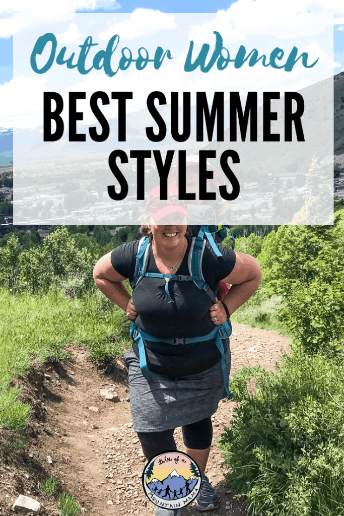 Outdoor Women Best Summer Hiking Styles
