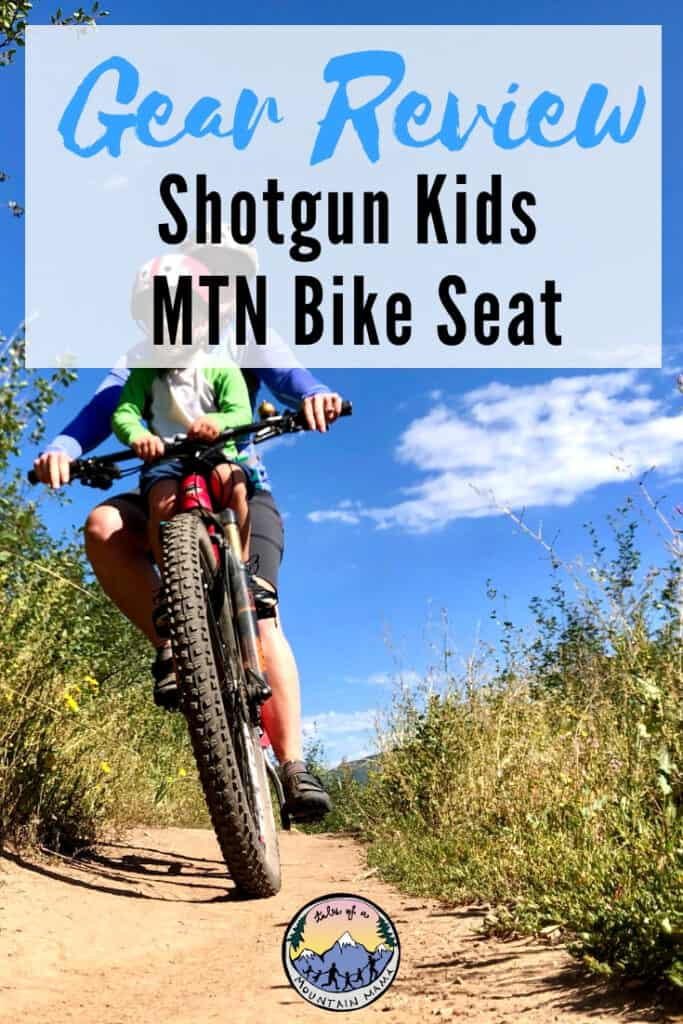 Shotgun Kids MTN Bike Seat