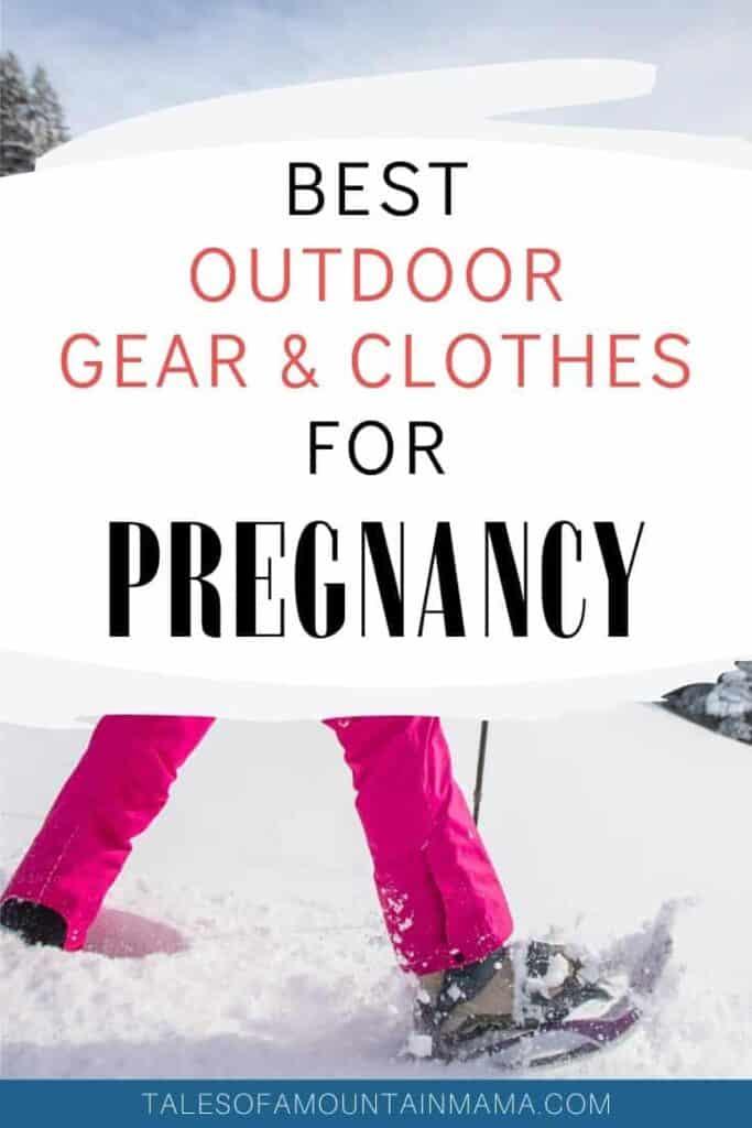 Best Winter Gear for Pregnancy