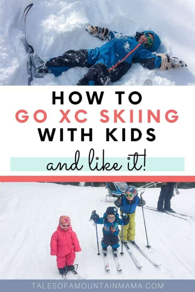 XC Skiing with Kids