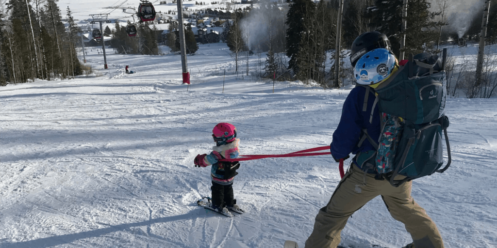 Teaching Kids to Downhill Ski