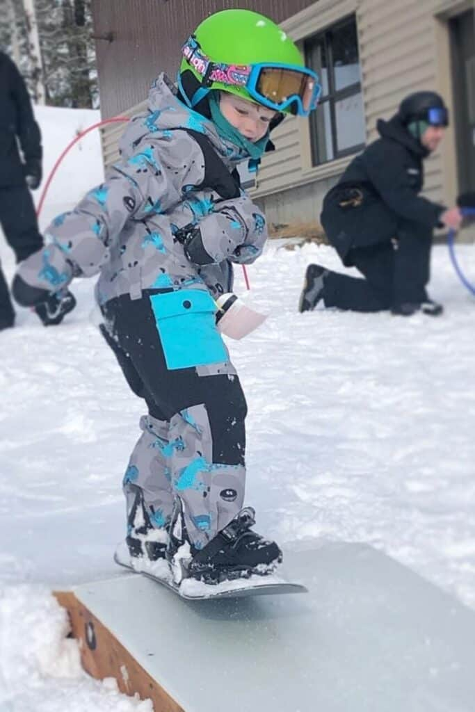 How to Teach Kids to Snowboard