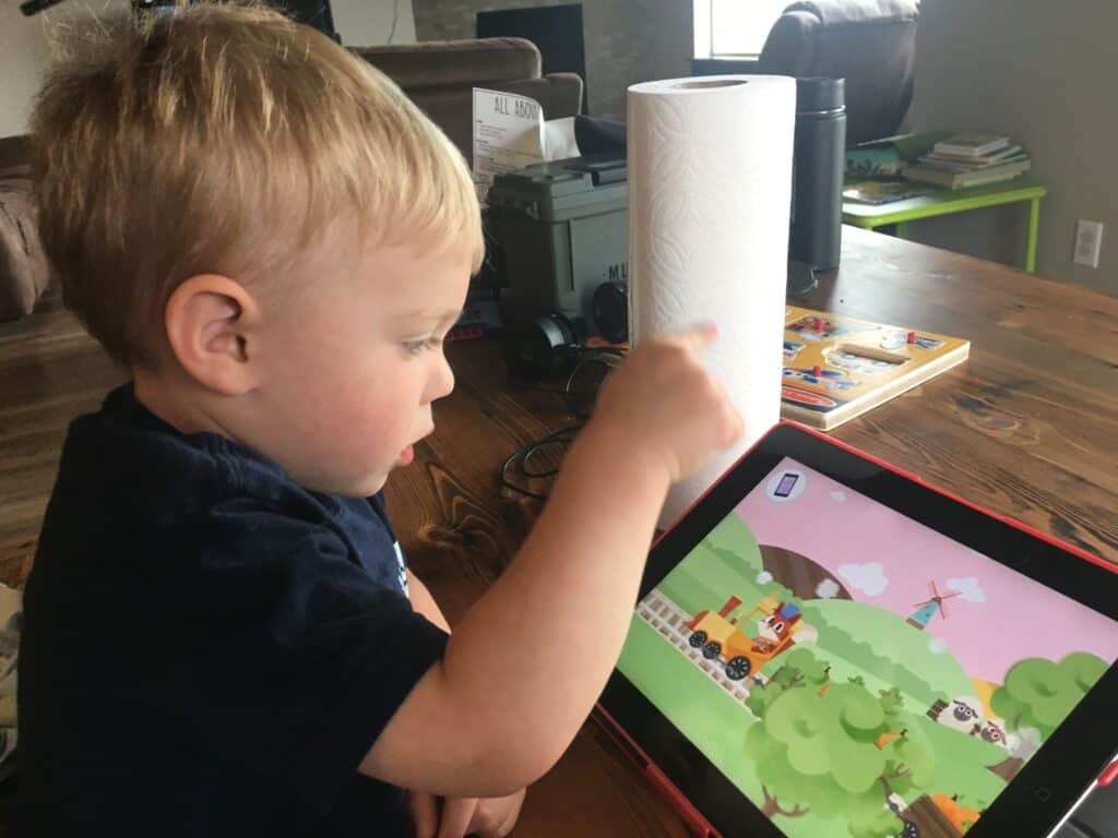 Giving kids an ipad is so easy