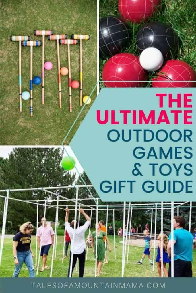 The Ultimate Outdoor Games & Toys Gift Guide