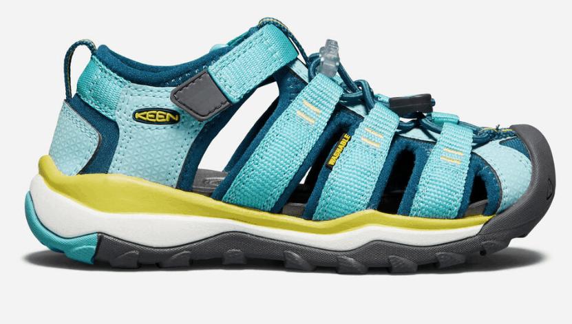 Keen Moxie Junior Blue Outdoors Walking Camping Sandals Summer Shoes