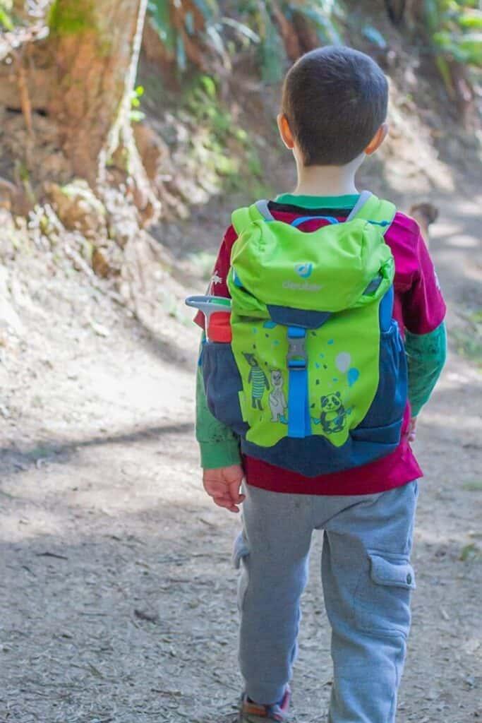 Deuter Schmusebar is one of the best hiking backpacks for kids