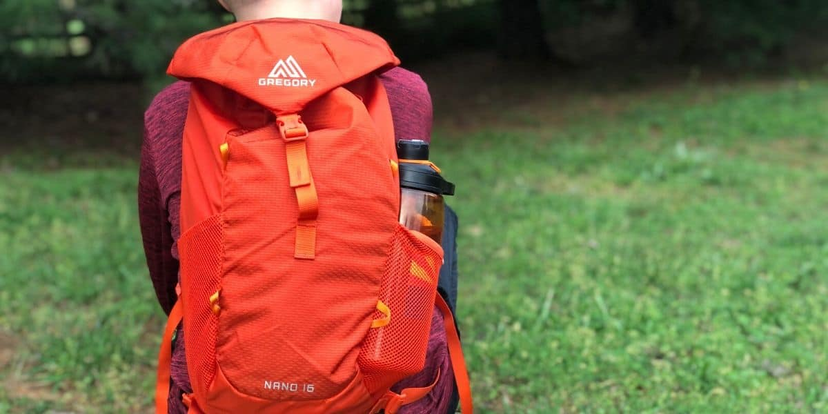 Nano 16 Litre DayPack BackPack in Red Perfect Small Hike Bag Gregory Packs