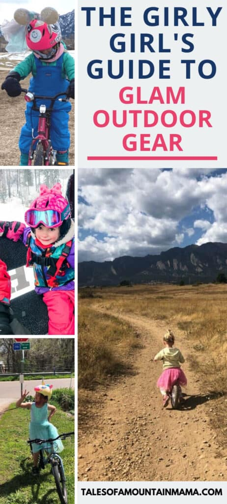 The Girly Girl's Guide to Glam Outdoor Gear