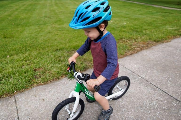 Starting a Toddler on a Balance Bike