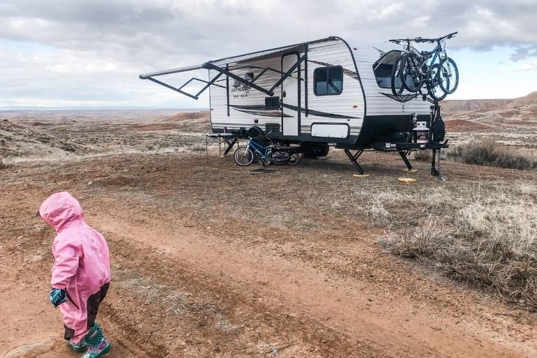 Dispersed Camping with Kids