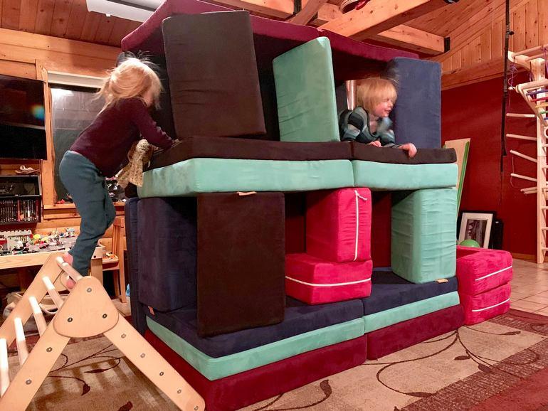indoor active play