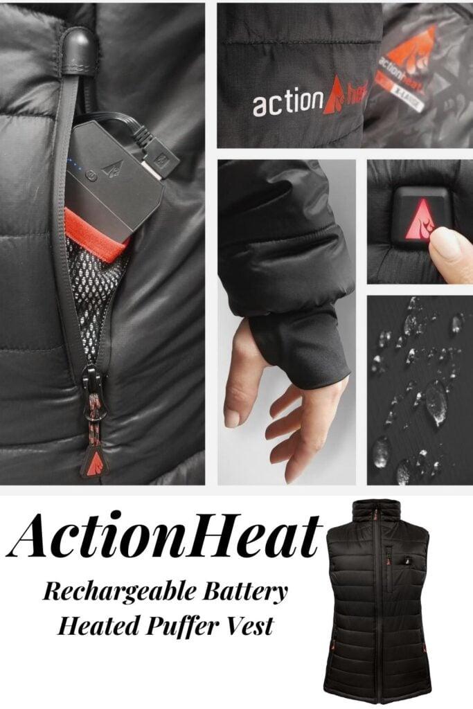 actionheat vest heated clothing