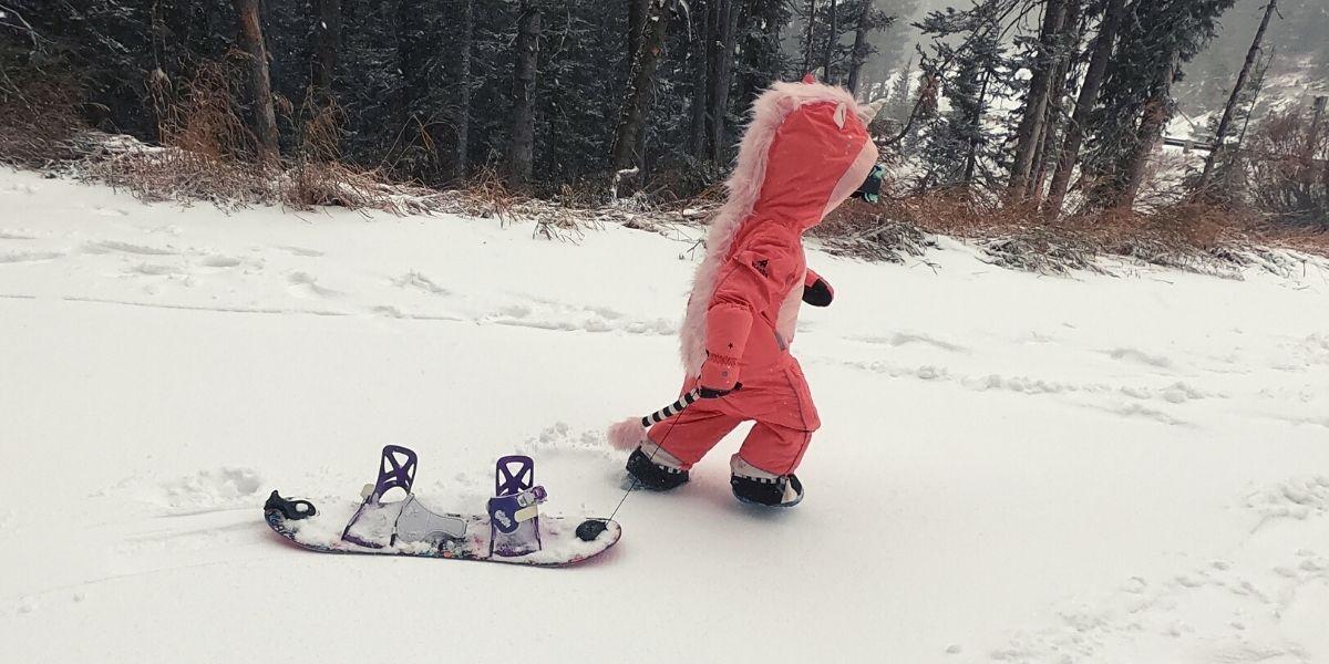 The WeeDo Funwear Unicorn Snowsuit
