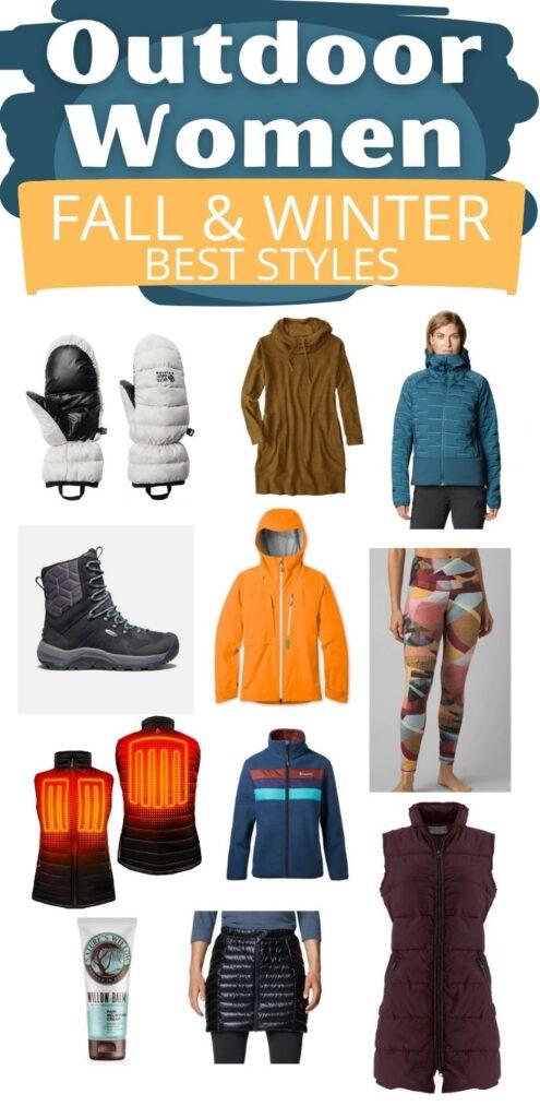 Outdoor Women Winter Style Guide