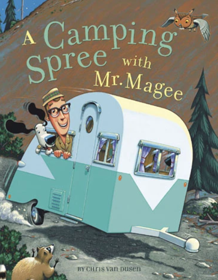 outdoor adventure book series mr. magee
