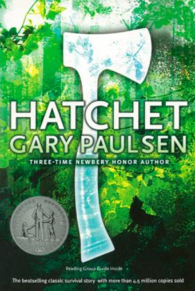 outdoor adventure book series hatchet